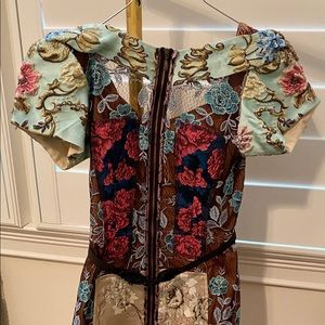 Byron Lars / Anthropologie Embroidered Dress
